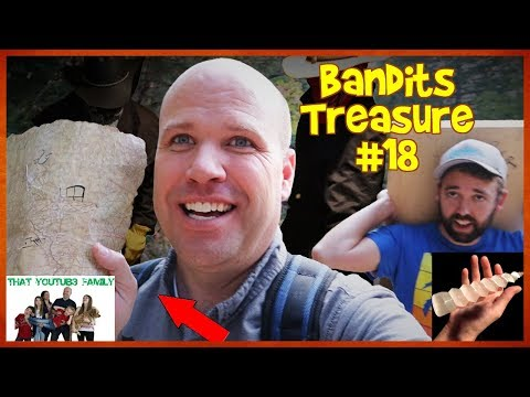 Tracking BANDiTS MYSTERY TREASURE MAP