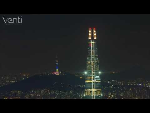 Lotte World Tower nightscape