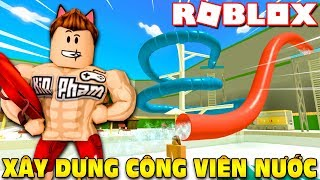 Roblox | KIA To BUILD FREE WATER PARK TICKETS For FAN-Waterpark Tycoon | Kia Breaking