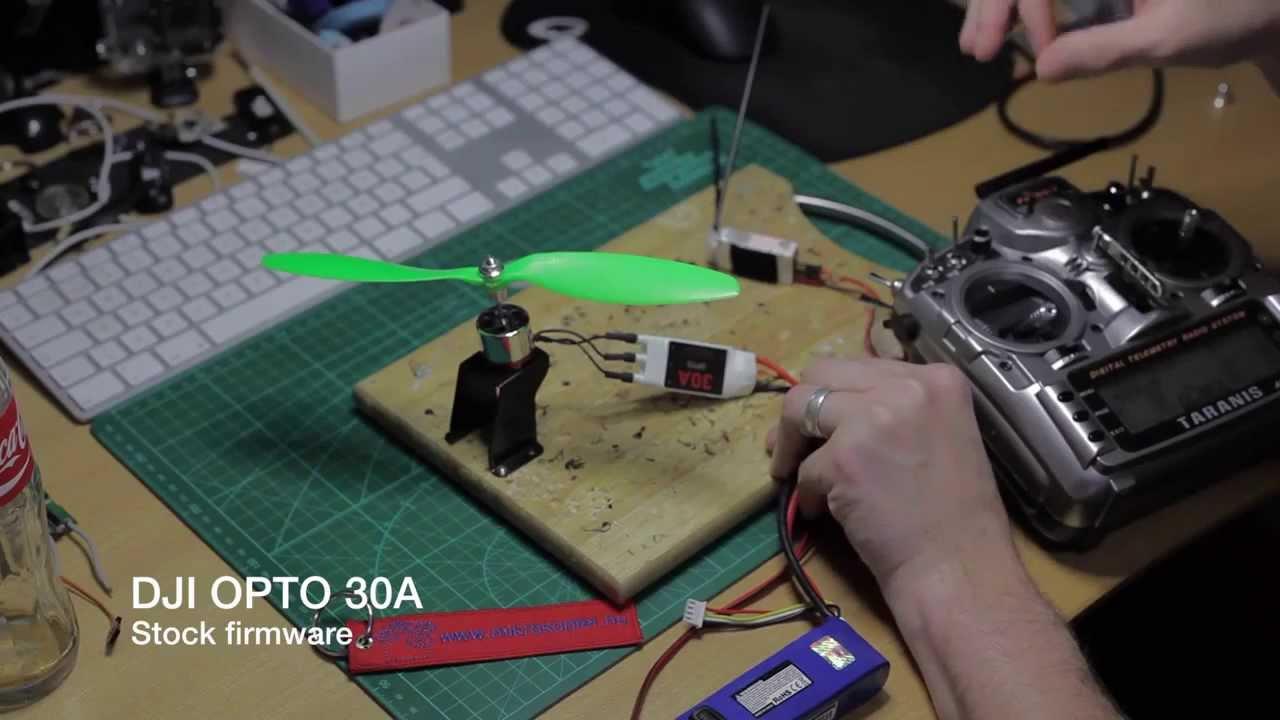 DJI ESC 30A OPTO - FW test