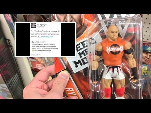 RYBACK CHALLENGES GRIM? WWE TOY HUNT RAGE AT KMART! NEW ELITE WRESTLING FIGURES!
