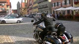 KAWASAKI VN1700 Motorcycle touring in Germany 2013