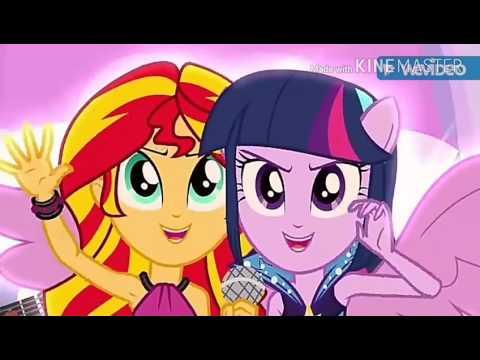 Equestria girls-Aloha, E Komo Mai