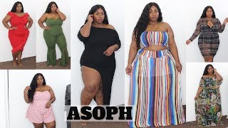 FLY & AFFORDABLE! PLUS SIZE FASHION TRY ON HAUL 2019   ASOPH