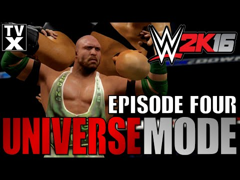Let's Play - WWE 2K16 Universe Mode Ep.4 [WWE 2K16 Gameplay Commentary]