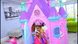 Disney Princess Play Castle Toys and Princess Dolls