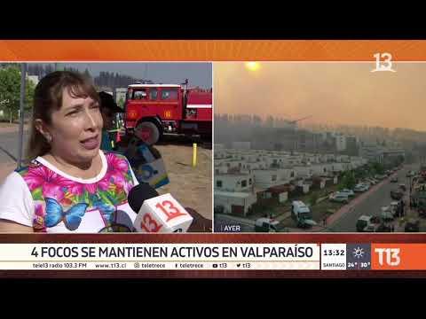 Incendios En Valparaíso: Más De 6 Mil Clientes Sin Agua Potable