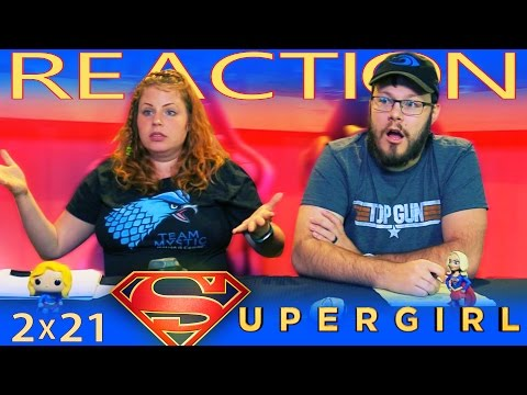 "Supergirl 2x21 REACTION!! ""Resist"""
