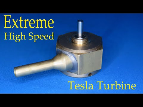 How to make an extreme high speed mini Tesla turbine