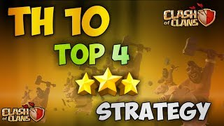 Th10 [TOP 3] BEST 3 STARS WAR ATTACK STRATEGY | Clash Of Clans