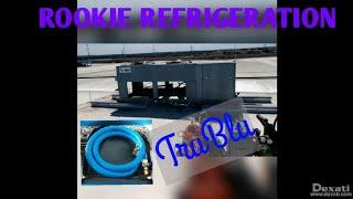 HVAC/Refrigeration- Leak Repair and first time using the TruBlu hose.