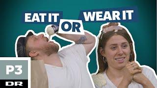 Curlingklubben tester challenges: Eat it or wear it challenge | Curlingklubben | DR P3