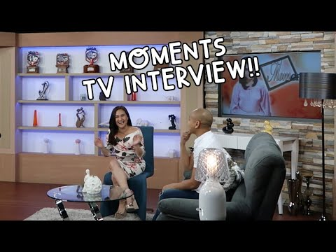 TV INTERVIEW in the Philippines with Gladys Reyes | Vlog #90