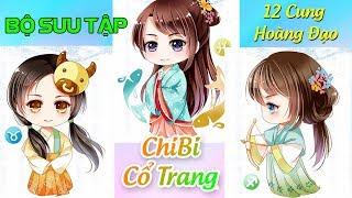 Bộ Sưu Tập 12 Cung Hoàng Đạo CHIBI CỔ TRANG làm Squishy rất xinh (Có Link tải về)! | Liam Channel