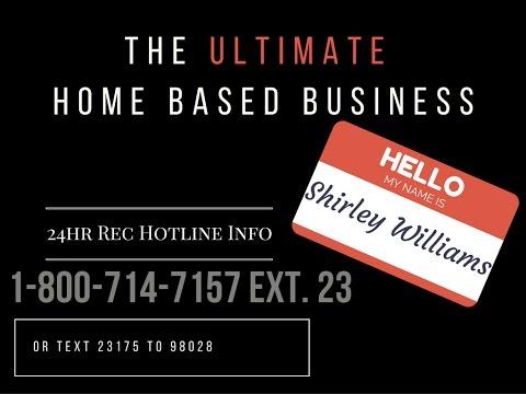 Shirley Williams 24hr Rec Hotline 1-800-714-7157 Ext. 23