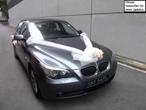 Wedding Car Decoration Bmw Pictures Of Car Decor Youtube