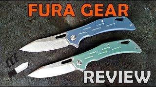 FURA GEAR Knife Review  (aka Canku C334) A D2 blade Ti handle