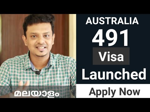 Australia 491 Visa Launched..Apply Now  Requirements And New Updates In 189,190& 491