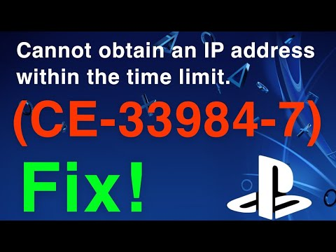 How To Fix PS4 Error CE-33984-7 - (Working 100%)
