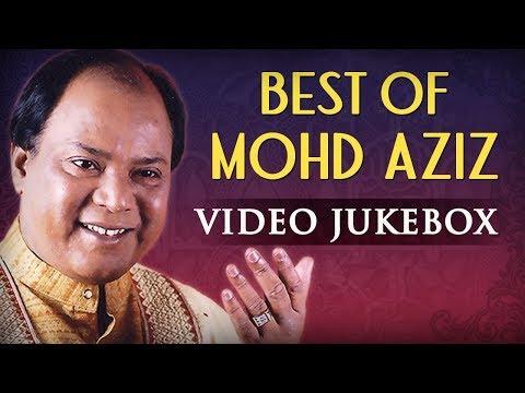 The Melodious : Mohammed Aziz ~ Bollywood Romantic Hits | Audio Jukebox | Hindi Love Songs
