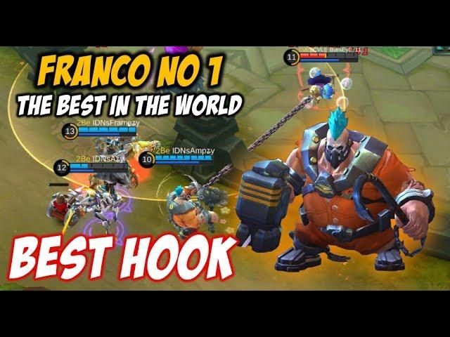 Ini Baru Franco Pro Player No 1 Terhebat di Dunia Dapet MVP Jago banget Mobile Legends