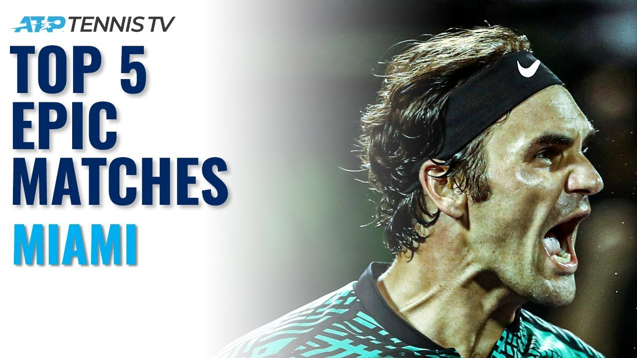 Top 5 Epic ATP Matches from Miami!