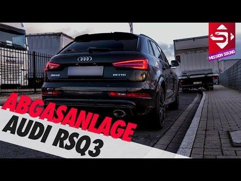 Audi RSQ3 Abgasanlage by Piddi - 5 Zylinder  | Mission Sound | Sidney Industries