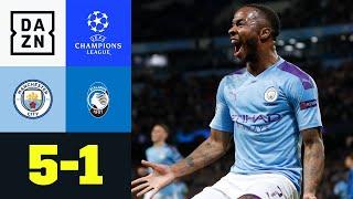 Sterling-Hattrick und Agüero-Doppelpack: Man City - Atalanta 5:1 | UEFA Champions League