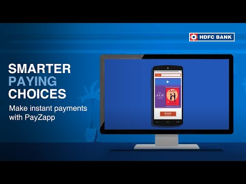 Want To Make Payments Instantly? Introducing PayZapp By HDFC Bank, India's No. 1 Bank*