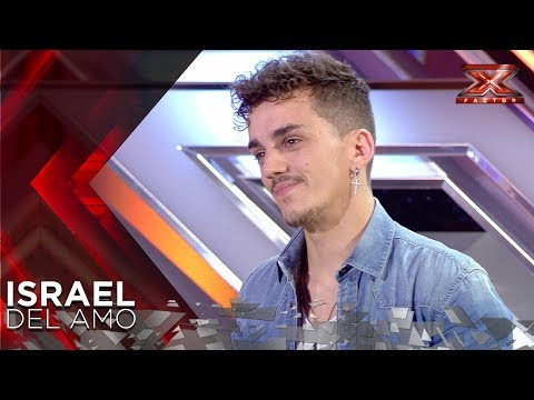 Israel sings his heart out for Laura Pausini | Auditions 1 | The X Factor 2018