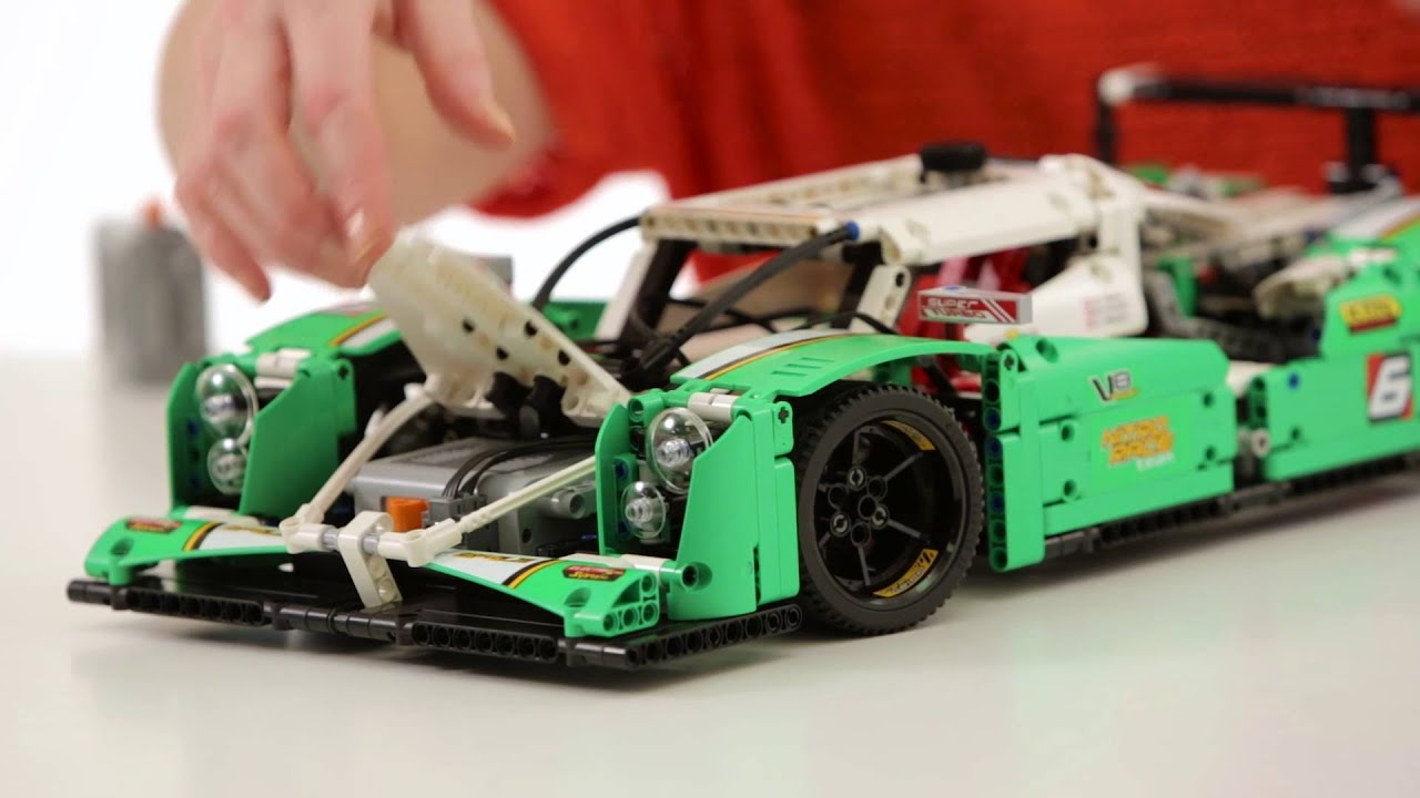 lego technic on the table 24 hour race car youtube. Black Bedroom Furniture Sets. Home Design Ideas