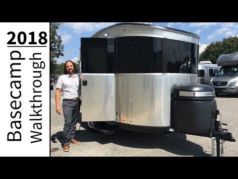 Walk Through 2018 Airstream Basecamp 16NB Light Weight Small Camping Adventure Trailer