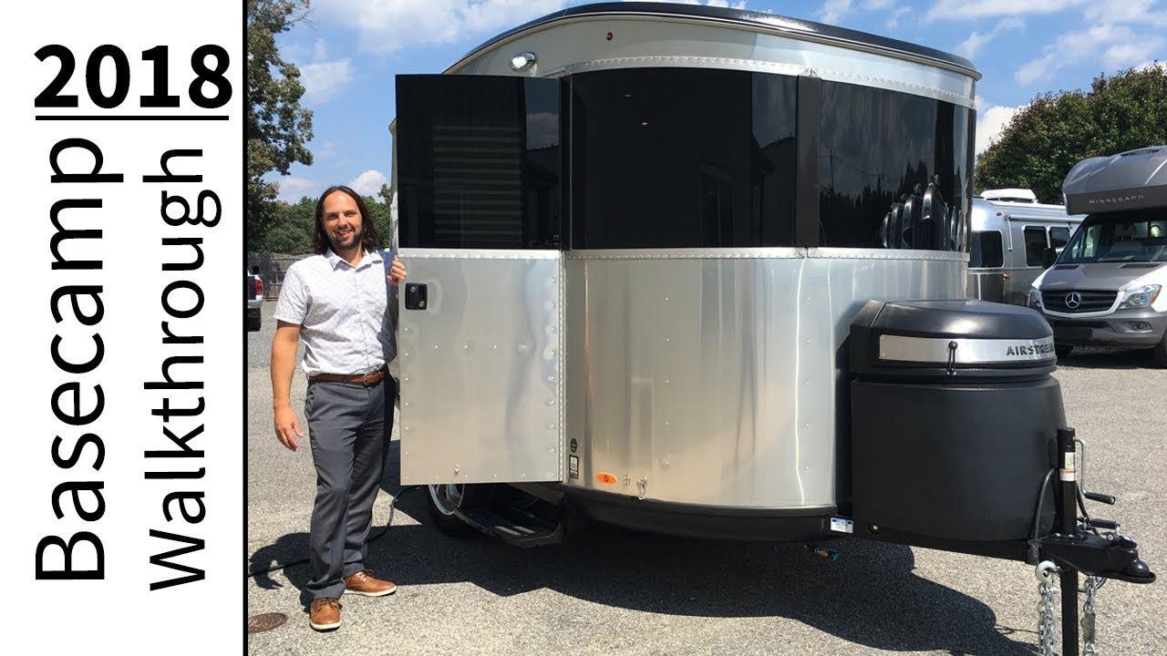 Walk Through 2018 Airstream Basecamp 16nb Light Weight Small Camping