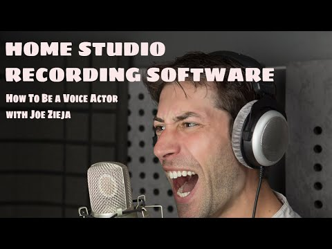 HOME RECORDING STUDIO SOFTWARE - Choosing a DAW - How To Be A Voice Actor