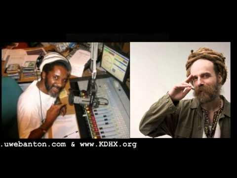 Uwe Banton being interviewed by Ital Kae on KDHX 88.1 FM St. Louis, USA