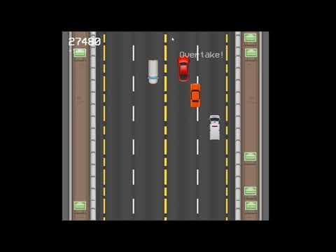 Speeding on the highway