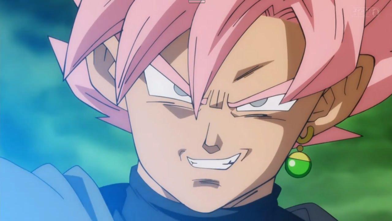 Black Goku Turns Super Saiyan Rose (English Sub) [HD