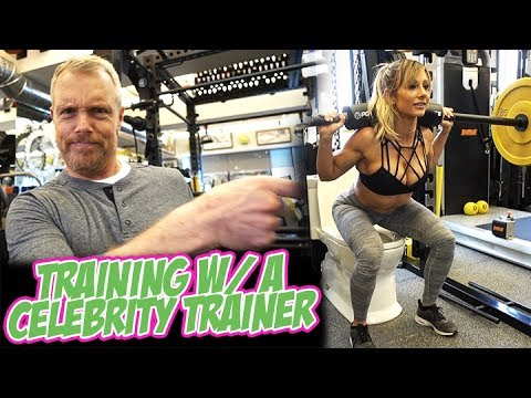 Training With A Celebrity Trainer