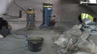 Клей-бетон на парковке от компании ООО
