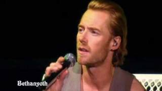 From the live Back again no matter what (2008) Ronan Keating When Y...