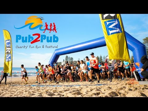 2017 Pub2Pub Charity Fun Run & Festival - Sydney's most scenic fun run
