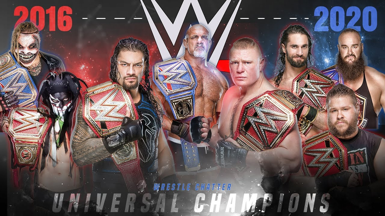 The Best Universal Champion of All Time - Ranking All 8 Universal Champions in WWE