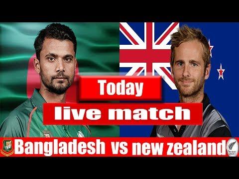 Live: Ban Vs NZ 1st ODI 2019 | Live New Zealand Vs Bangladesh Cricket Live Bangla Cricket Live