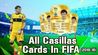 All Casillas Cards in FIFA
