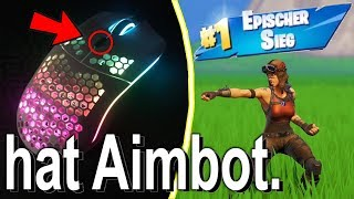 I buy AIMBOT MAUS for ARENA MODUS in Fortnite...