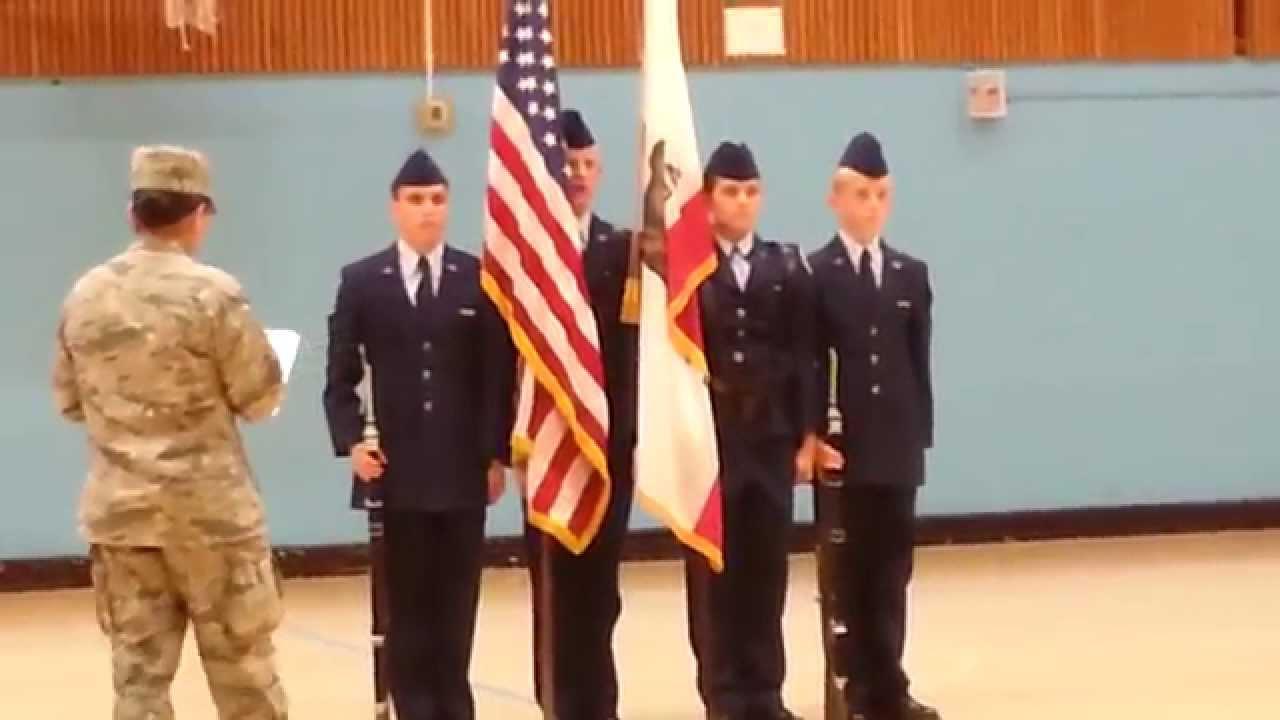 jrotc color guard california drill meet