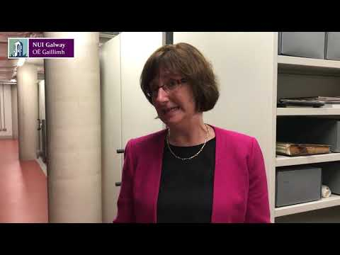 Conradh na Gaeilge Archives arrive at NUI Galway - Monica Crump