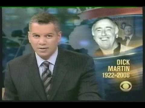 The Death of Comedian Dick Martin  May, 2008