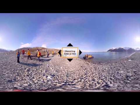 Arctic: Spitsbergen Land Expedition (360° VR)
