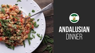 White Beans Andalusian Style || Around The World: Andalusian Dinner || Gastrolab